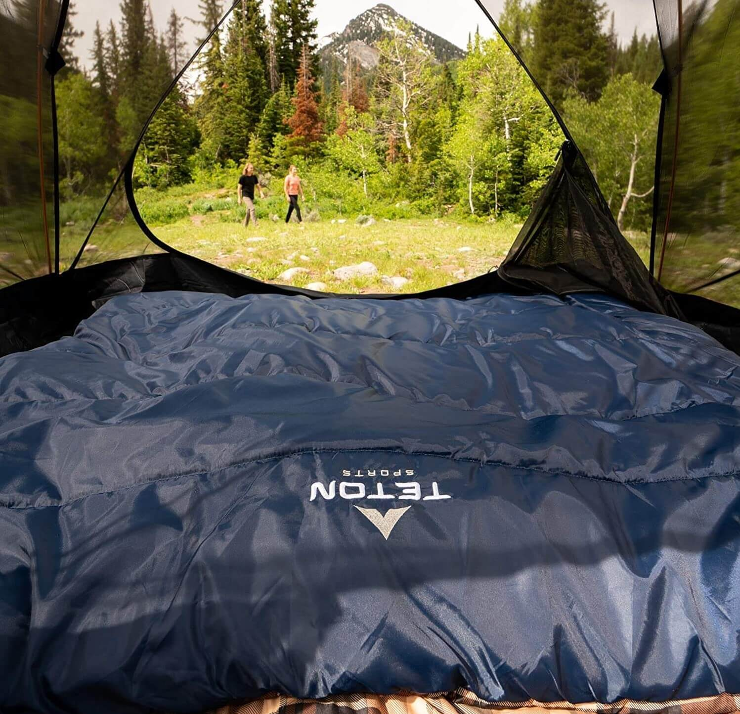Best Double Sleeping Bag for Backpacking
