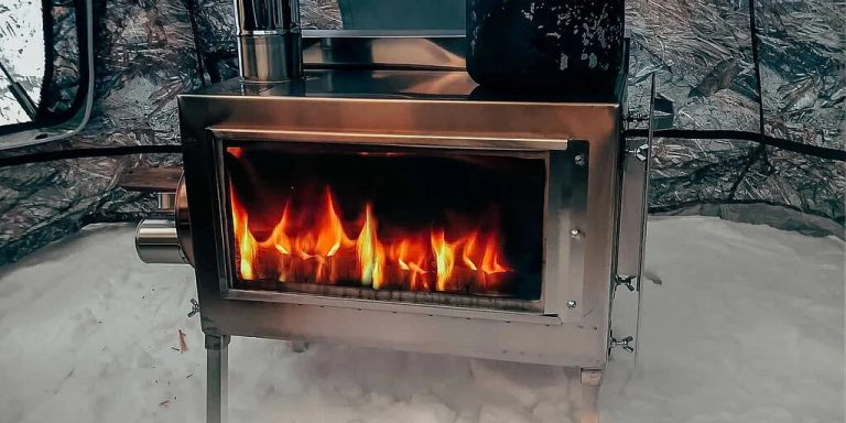 How to Use a Wood Burning Stove in the Tent